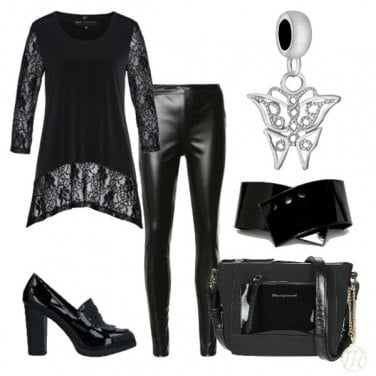 Outfit Total look in black