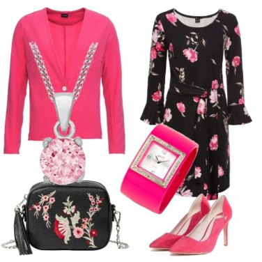 Outfit Total look bon ton with flowers