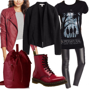 Outfit Per le fan di supernatural