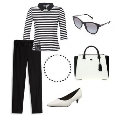 Outfit Black and white style