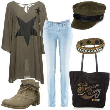 Outfit Rock #2840