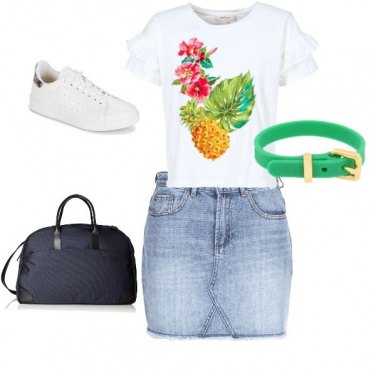 Outfit Urban style con stile