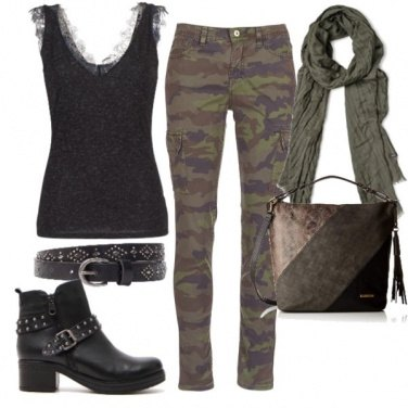 Outfit Camuflage