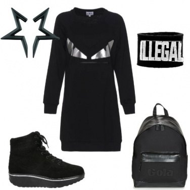 Outfit Black urban