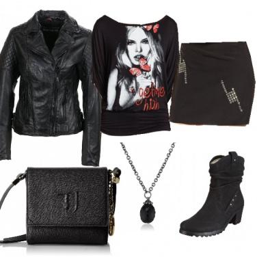 Outfit Ad un concerto metal