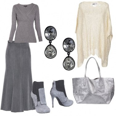 Outfit Grigio autunnale