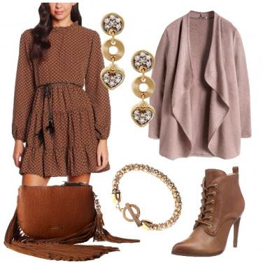 Outfit Bohemian con dettagli chic