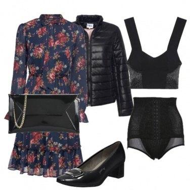 Outfit Autunno fiorato