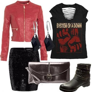 Outfit Eleganza ribelle