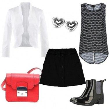 Outfit Minigonna da giorno