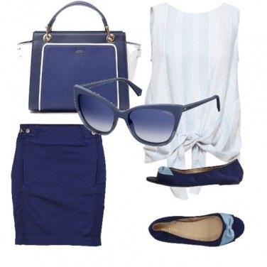 Outfit Blue Bon Ton
