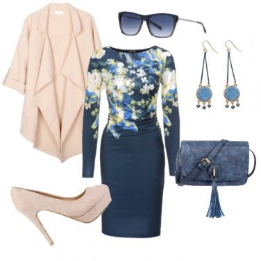 Outfit Floreal chic