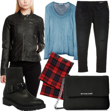 Outfit Grunge rock