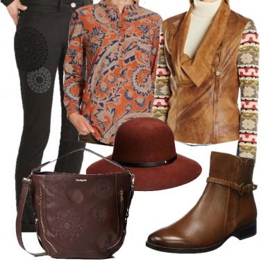 Outfit Insieme a una giacca bimateriale