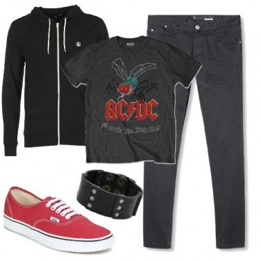 Outfit Biker Rock #324