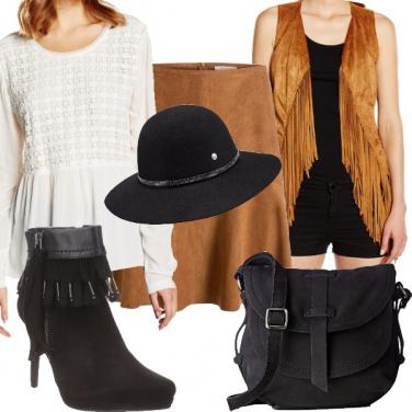 Outfit Popolare con le frange