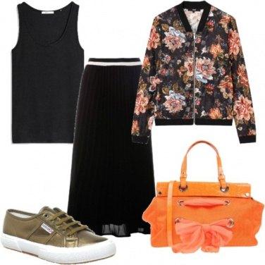 Outfit Fiocchi e fiori trendy