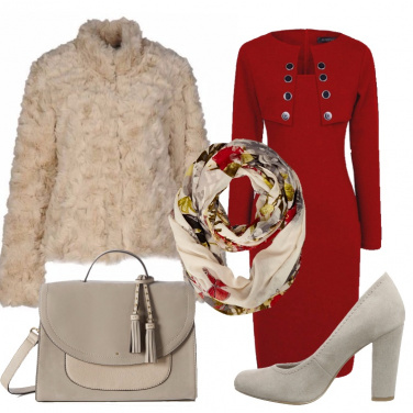 Outfit Allegro rosso