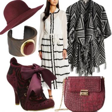 Outfit Cerimonia in stile bohémien