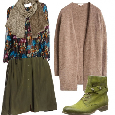 Outfit Comodamente bohemien