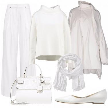Outfit Morbido e bianco