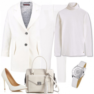Outfit Bianco assoluto