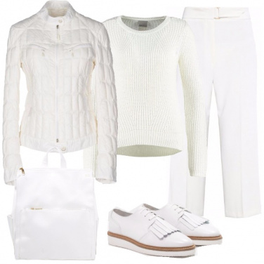 Outfit Look total white