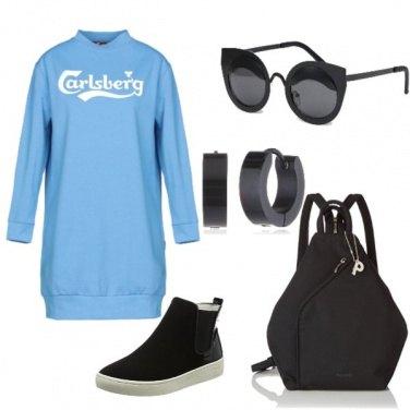 Outfit Maxifelpa