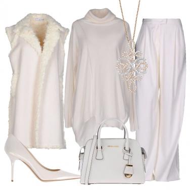 Outfit Come una regina delle nevi