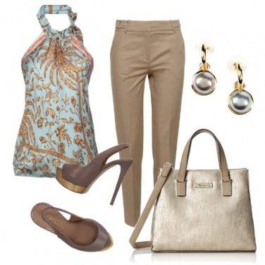Outfit CMPS Oro per risplendere