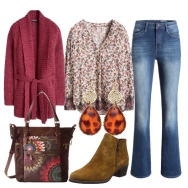 Outfit Autunno bohemian