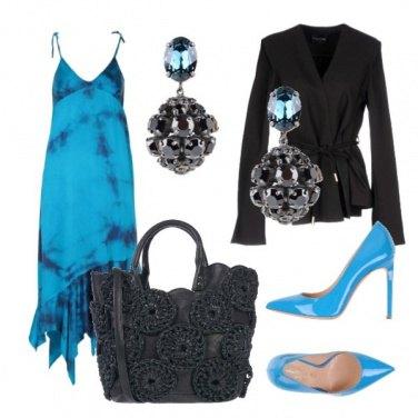 Outfit Serata azzurra