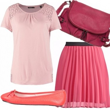 Outfit Cheap and pink