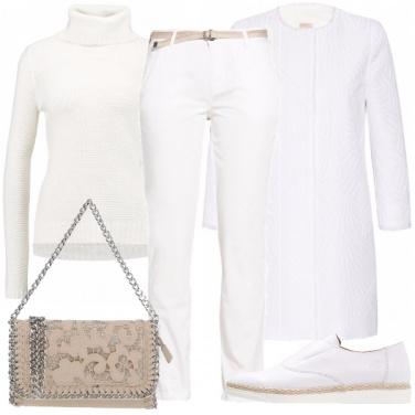 Outfit Il tutto bianco