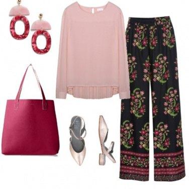 Outfit Pantalone palazzo