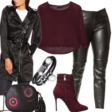 Outfit Rock nel cuore