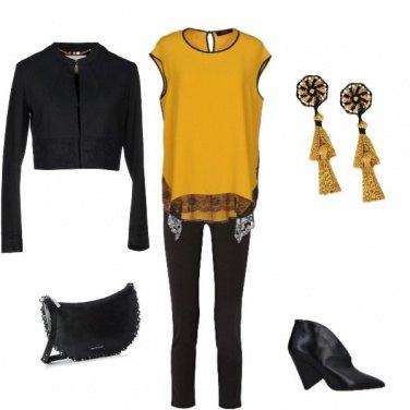 Outfit Giallo d\'autunno