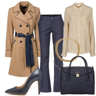Outfit Blu protagonista