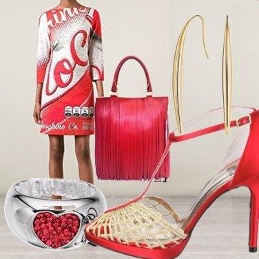 Outfit Coca cola