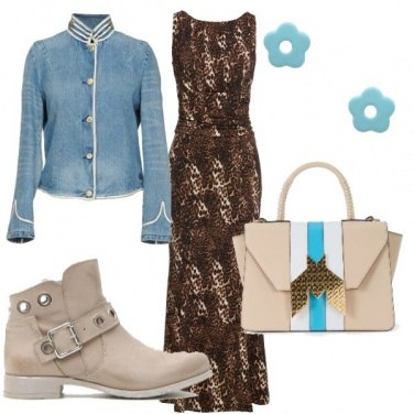 Outfit Casual in lungo