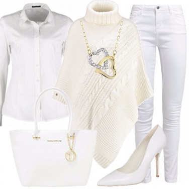Outfit Divina in total white