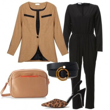 Outfit Tuta e animalier must have d\'autunno