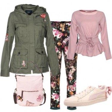 Outfit Tenera e sportiva