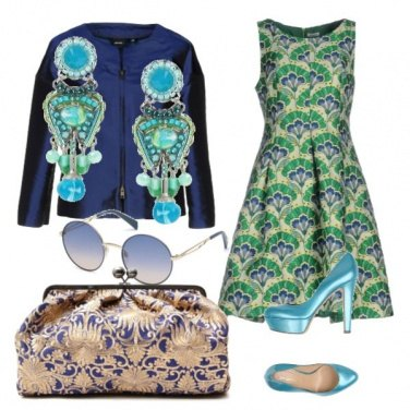 Outfit Bon ton total look curvy