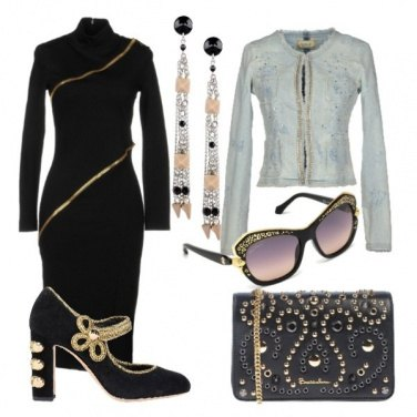 Outfit Total look tubino trendy