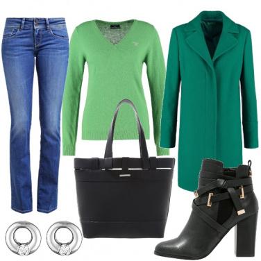 Outfit Scalature di verde