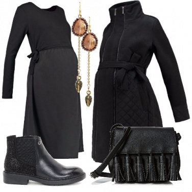 Outfit Una futura mamma