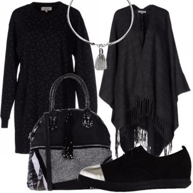 Outfit Un tocco argento