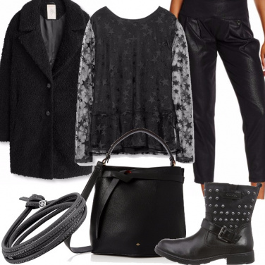 Outfit Rock stellare