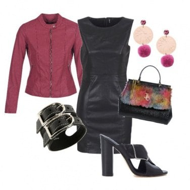 Outfit In tubino con grinta